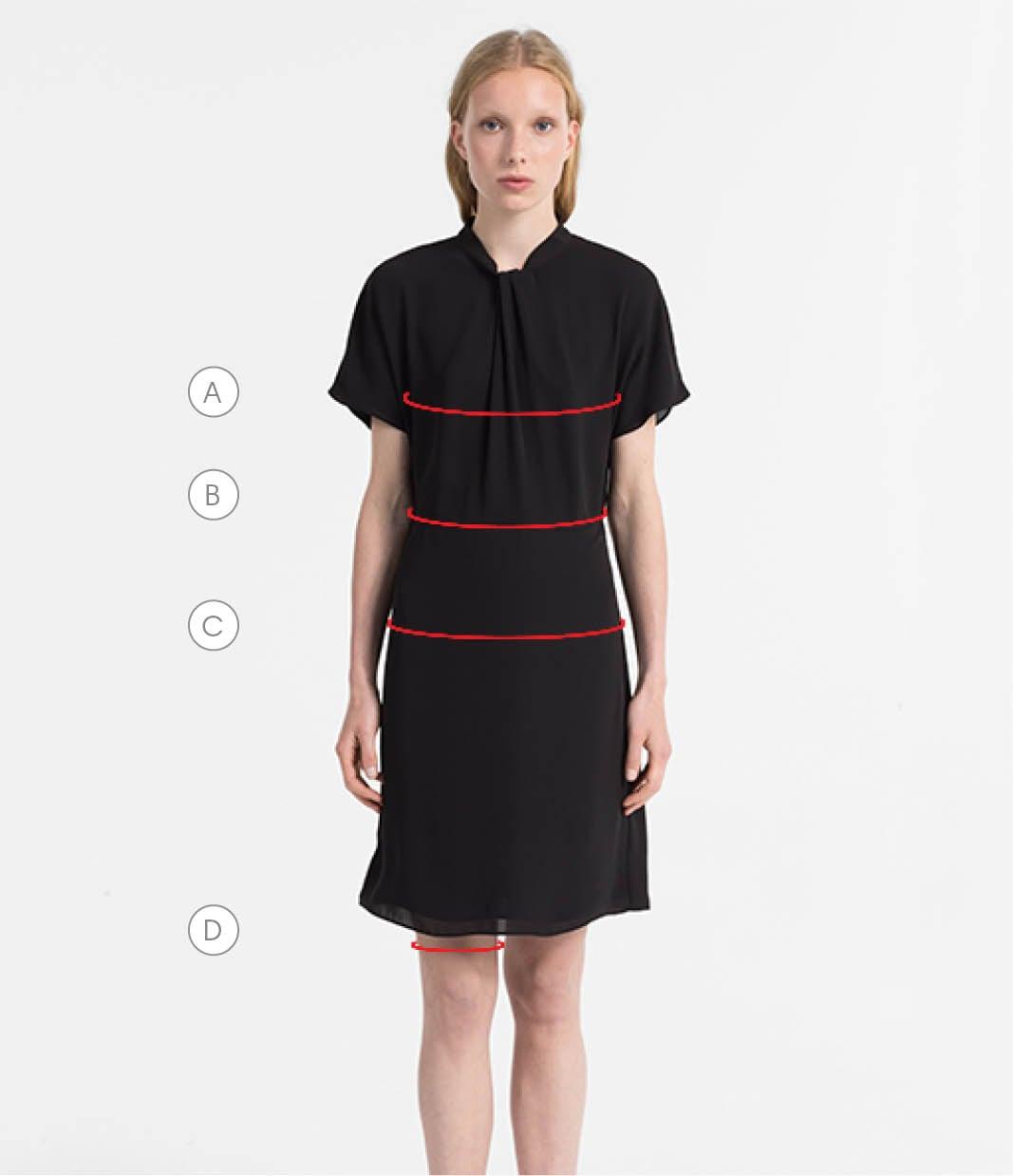 Women\'s Size Guide | Customer Service | Calvin Klein®